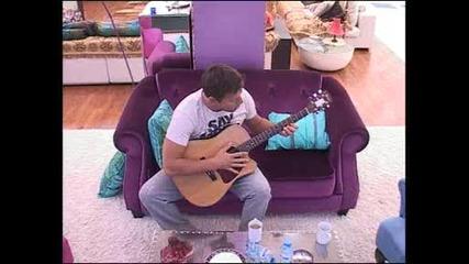 Орлин импровизира на китара - Vip Brother 07.11.2012