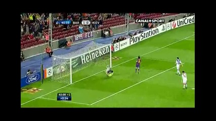 Messi 1vs.1 Ibra lob
