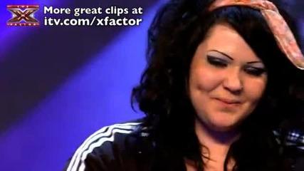 Жена с невероятенн глас в The X Factor 2011