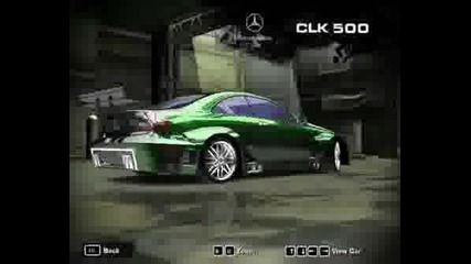 My Cars In Need For Speed Mw