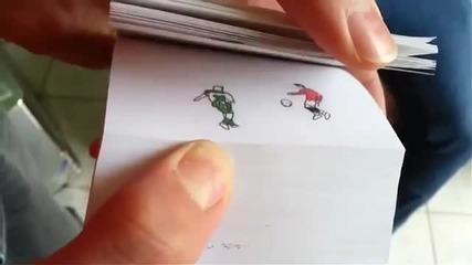 Най-доброто от Кристиано Роналдо в флип книга! Woow! Трябва да видите!!