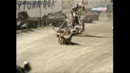 Лошо Падане На Моторист