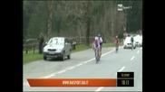 Брадли Уигинс и Скай с етапна победа в Обиколката на Трентино