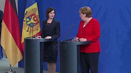 Germany: Merkel welcomes and expresses support for new Moldovan PM