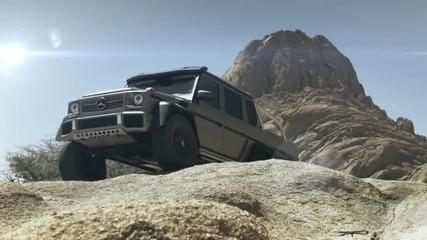 Гледайте какво може Mercedes-benz G 63 Amg Със сигурност не сте виждали такава машина!