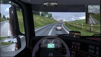 Euro Truck Simulator 2 - ненормално каране (part1)
