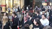Australia: Protesters march in solidarity with Black Lives Matter in Sydney