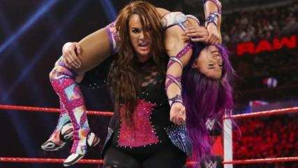 Sasha Banks vs. Nia Jax - Winner Challenges Ronda Rousey for the Raw Women's Championship at Royal Rumble: Raw, Jan. 7,