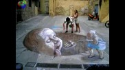 3d Risunki Na Asvalt:)