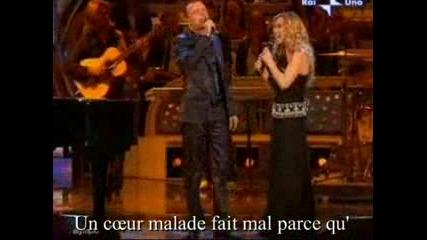 Gigi Dalessio, Lara Fabian - Un Cuore Malato
