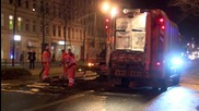 Germany: Clean-up op. underway after afternoon of clashes in Leipzig