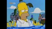 Забавни моменти от The Simpsons - Бил Клинтън, Стивън Кинг и още много други