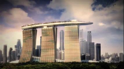 Най - скъпият хотел в света - Marina Bay Sands