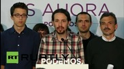 Spain: Podemos' Iglesias predicts new political era in Spain following local elections