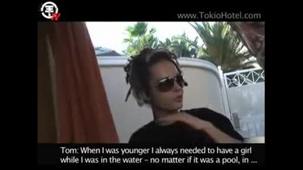 Tokio Hotel Tv [episode 51] Summer Feeling At The Pool.avi