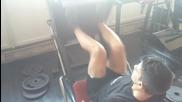 зверска тренировка за крака