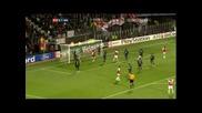 20.10.2009 Аз Алкмаар - Арсенал 1 - 1 Шл групи