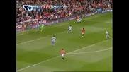 Финт на Бербатов срещу Манчестер Сити
