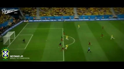 Neymar Jr - Skills, Tricks, Goals in the group stage of the World Cup 2014
