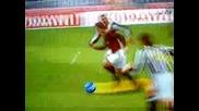 Така се вкарват голове на Буфон! : Милан - Ювентус (pes 2009, Ps2)