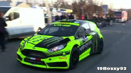 Valentino Rossi - Ford Fiesta Rs Wrc - Monza Rally Show 2015