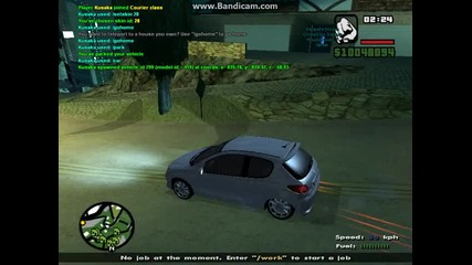 Gta Sa-mp 4 favorite cars