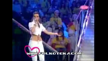 Jelena Kostov - Ne kunite crne oci(zvezde Granda2009)