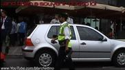 Lamborghini Lp670-4 Sv получава глоба и след това полицаят го снима :d