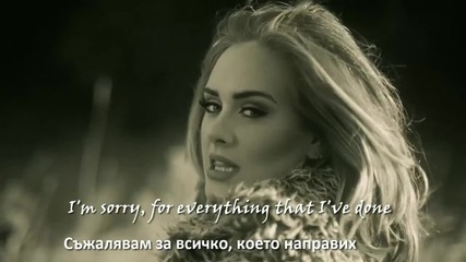 ♫ Adele - Hello ( Dash Berlin Rework) превод & текст