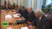 Russia: Putin leads Security Council talks on St. Petersburg Economic Forum