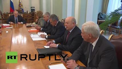 Russia: Putin leads Security Council talks on St. Petersburg Economic Forum
