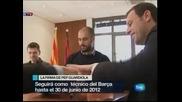 """Хосеп Гуардиола подписа с """"Барселона"""" до лятото на 2012"""