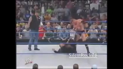 Brock Lesnar Gets Jumped And Undertaker Saves Him