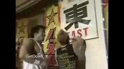Team 3d vs. Masato Tanaka, Tetsuhiro Kuroda & Kintaro Kanemura - Hustle 15.06.2006