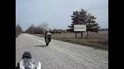 Малко преди кантара - Honda Cbr 929 Rr
