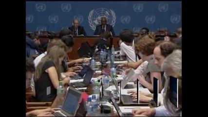 Кофи Анан е оптимист за решаване на кризата в Сирия