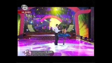 Водещата на Dancing Stars 2 се раздава яко на дансинга ! (28.11.09)