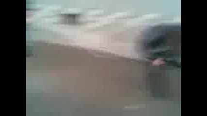 Скачане на въже село Торос (голям смях)