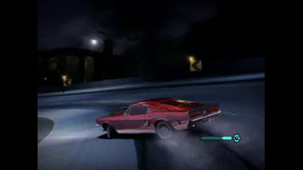 Ford Mustang Gt500 night Ridin nfs carbon