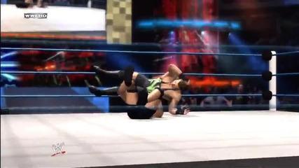 Wwe '12_ Rob Van Dam vs Kurt Angle