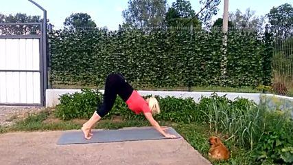 Пауър йога комплес за здраво тяло