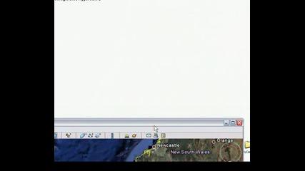 Australia in Google Earth