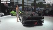 Lamborghini Sesto Elemento in detail + interiour Paris 2010