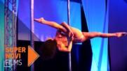 Изкуството на танците на пилон | Pole Art Bulgaria 2017 | Supernovi films