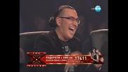 X-factor Jeason Brad Lewis падна от сцената имитирайки Маррри xd .