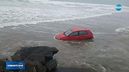 Мощна буря удари Ирландия