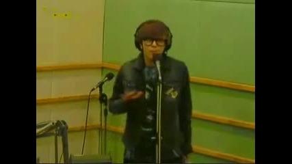 Junhyung singing Be My Luv at Danny Ahn Music Show (radio)