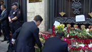 Russia: Muscovites mourn late President Karimov outside Uzbek embassy
