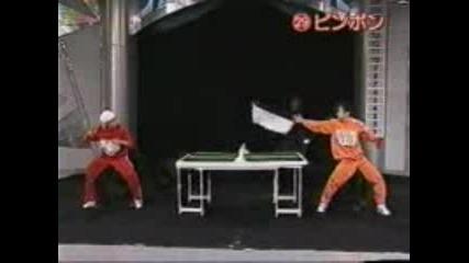 Японско Щоу - Еб*аси Пинг Понга Невероятно