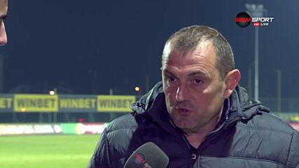 Загорчич: Само от първите ни 10 минути в мача не съм доволен